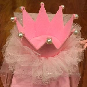 Other - Pearl and Pink Birthday Crown or Tiara